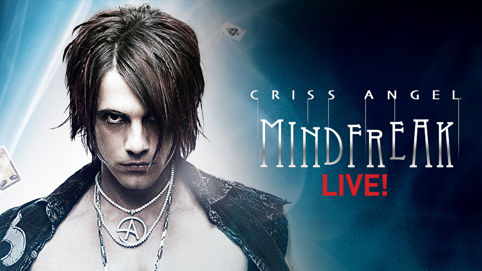 criss angel mindfreak live at the luxor hotel and casino las vegas