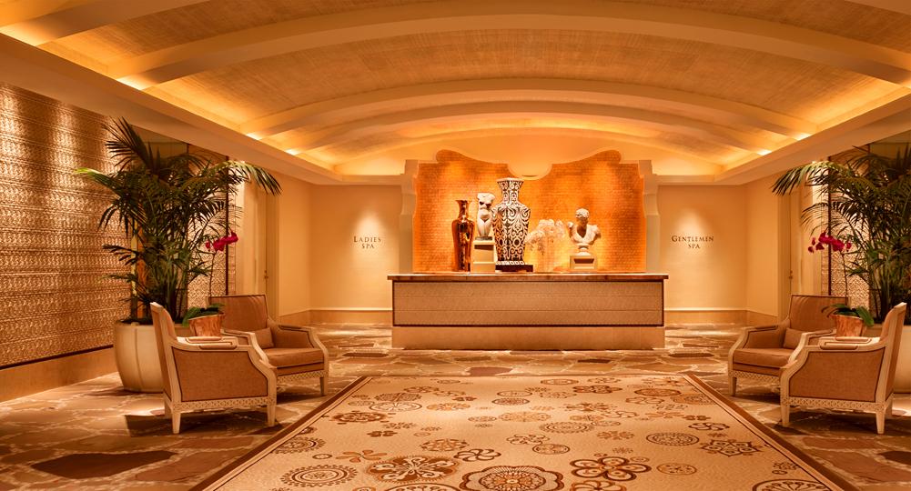 Wynn Hotel Spa Robes